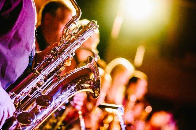 En saxofon
